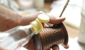 then clean the brass surface with a sponge or a napkin rinse properly with water finish by polishing the brass parts using soft dry cloth