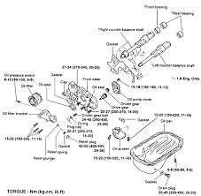 repair guides engine mechanical components oil pump autozone com exploded view of the oil pump and pan sonata 2 0l engine