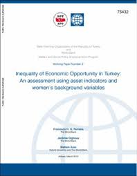 Inequality Of Economic Opportunity In Turkey : An Assessment Using ...