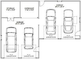 Car Garage  Building Plans Online  143424 Car Garage Size