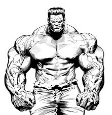 Small Picture 9 Pics Of Red Hulk Coloring Pages Incredible Hulk Coloring Pages