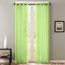 beautiful green grommet curtains for your window decoration beautiful lime green double panel grommet curtains