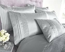 black and silver bedding sets excellent grey double duvet set luxury bedding silver diamante quilt cover