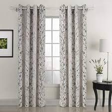 Leaf Pattern Curtains