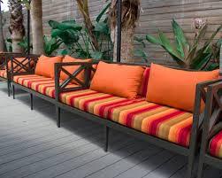 sunbrella custom loveseat sofa cushions
