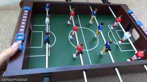 Miniature Wooden Foosball Table Game Holiday gift ideas inexpensive table top foosball soccer board 88