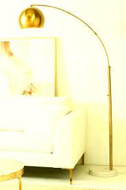 floor lamp design lighting mid century modern arc floor lamp for living room design with white