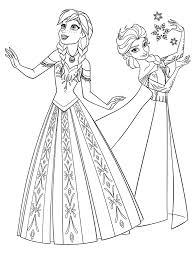 Disegni Da Colorare Frozen Disegni Da Stampare Principesse