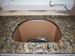 install the granite slabs