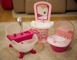 zapf baby born doll toys bundle interactive potty sink bath shower sound light