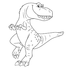 Dinosaurus Bovenste Deel Dino Kleurplaten Printen Tropicalweather