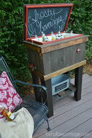 build a wood deck cooler