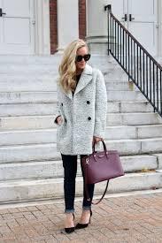 abercrombie marled wool pea coat affordable winter coat