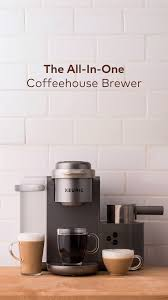 With 4 settings, a 60 oz. K Cafe Special Edition Single Serve Coffee Latte Cappuccino Maker Video Video In 2021 Keurig Coffee Station Cappuccino Maker Coffee Station