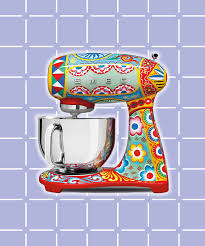 Kitchen And Home Appliances Dolce Gabbana Smeg Kitchen Appliance Collection Picture
