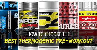 6 best thermogenic pre workouts for fat