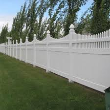 Halifax 6 ft H x 8 ft W White Vinyl Privacy Fence Panel Kit