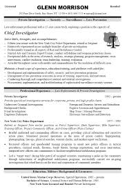 police officer resume template free httpwwwresumecareerinfo security objectives for resume