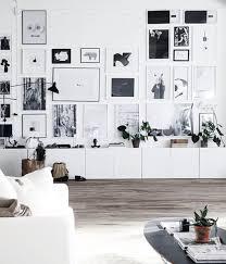 Ikea Besta Unit With Wall Art Decor