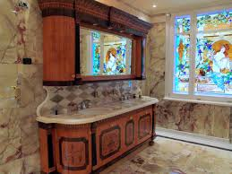 bathroom windows inside shower. Bathroom Windows Inside Shower: Luxury From Stained Glass Shower U