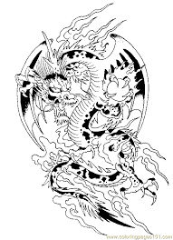 free printable dragon coloring pages for adults.  Adults Detailed Coloring Pages For Adults  Free Printable Coloring Page Dragon  Page 10 Peoples  In Free Printable For R