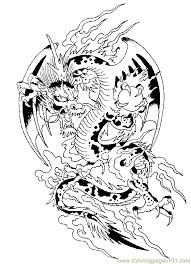 Dragoncoloringpage10heqnwgif 560776 Pixels Geek Stuff Dragon