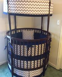 Circular Crib Bedding Project Nursery Ellery Round Crib From Rh Baby U0026 Child
