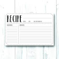 avery recipe card template template flashcard word index card flash 3 x 5 template avery