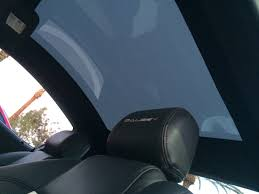 custom glass solutions provides guardian reveal switchable glass roof for new en mustang