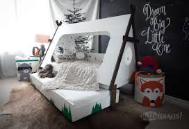 how to build bedroom furniture. Bedroom:Kids Teepee Trundle Bed Diy Version Of A 2000 Retail Also With Bedroom Winning How To Build Furniture E