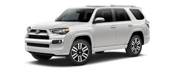toyota 4runner with 8 exterior colors