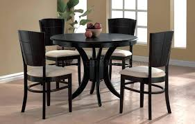 white glass round dining table espresso finish modern round dining table w optional chairs pertaining to