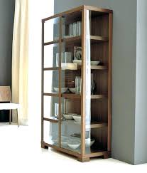 wall display cabinets display cabinets with glass doors stylish idea tall display cabinet elm wood glass