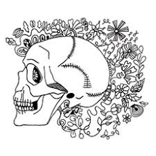 Small Picture 15 Best Skeleton Coloring Pages For Your Toddler