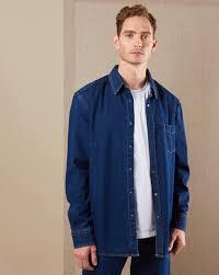 Джинсовая рубашка <b>классическая</b> в интернет-магазине ...