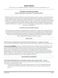 Resume Format Software Engineer Resume Sample Web