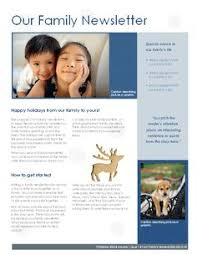 8 Best Family Newsletter Ideas Images Christmas Holidays
