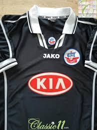 Ferienwohnung haubentaucher rostock hansa rostock. 1999 00 Hansa Rostock 3rd Football Shirt Old Jako Soccer Jersey Classic Football Shirts