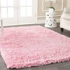 light pink nursery rug
