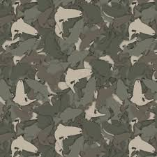 Camo Pattern Extraordinary Fish 48 Camouflage Pattern