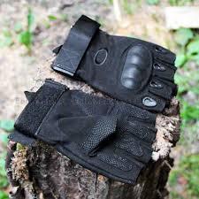 <b>Перчатки</b>: <b>Перчатки тактические</b> Oakley <b>без пальцев</b> чёрные
