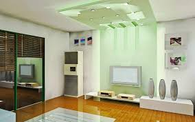 Interior Design Of Small Living Rooms Nice Modern And Classy Living Room With White Green