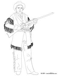 Calamity Jane Coloring Page Go Green
