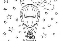 Kleurplaten Luchtballon Online Beste Kleurplaat