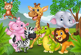 baby safari background. Perfect Baby 2018 Laeacco Jungle Safari Birthday Party Animal Themed Banner Baby Photo  Background Photocall Photography Backdrops For Studio From Mung  And R