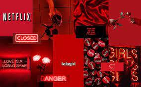 Red Aesthetic Macbook Screensaver ...