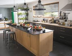 Meuble Bois Cuisine Nouveau Cuisine Style Industriel Castorama Www