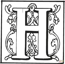 Small Picture Letter H Is For Halloween Coloring Page Free Printable Coloring