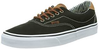 vans era 59. vans era 59, unisex adults\u0027 low-top sneakers, black (c l/ 59