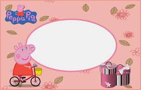 peppa pig printable invitations labels or cards is it peppa pig printable invitations labels or cards